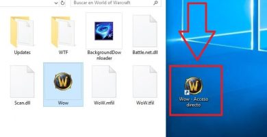 crear acceso directo a escritorio windows 10