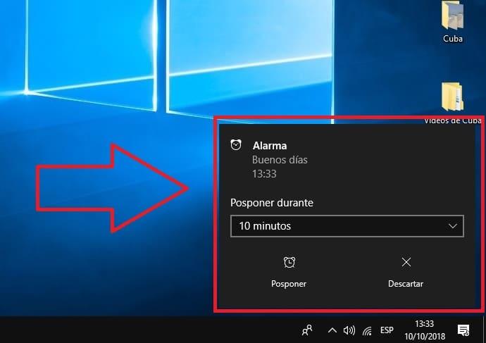 Poner Despertador Para PC En Windows 10 FÁCIL Y SENCILLO