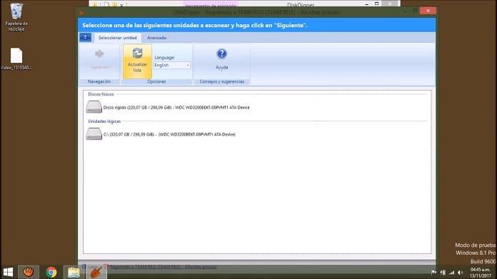 Diskdigger programa para recuperar datos disco duro