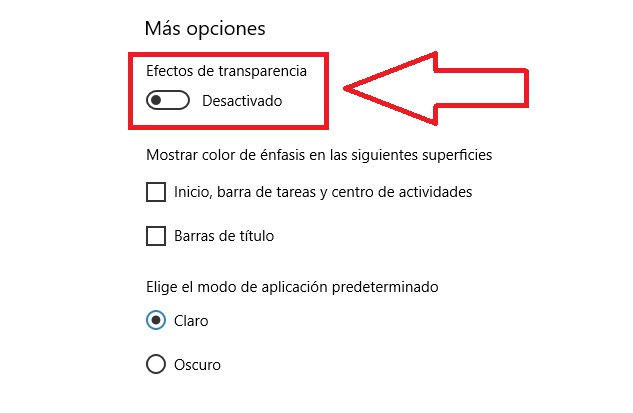 Cómo QUITAR La TRANSPARENCIA En WINDOWS 10