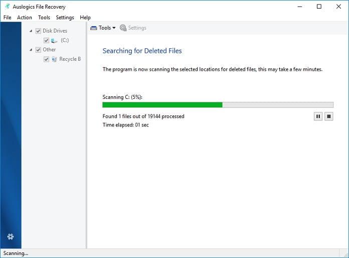 programa para recuperar archivos.