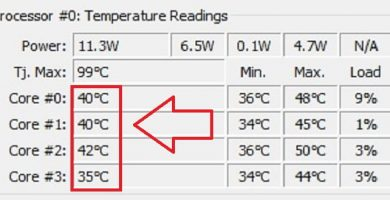 ver temperatura del cpu windows 10
