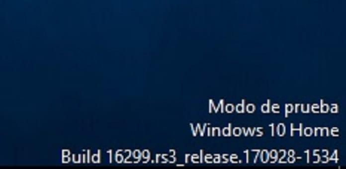 quitar marca de agua de prueba windows 10