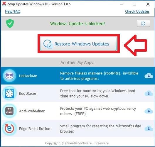 Activar Actualizaciones Automáticas De Windows 10.