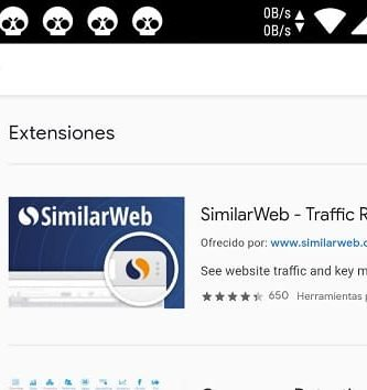extensiones de chrome en yandex.