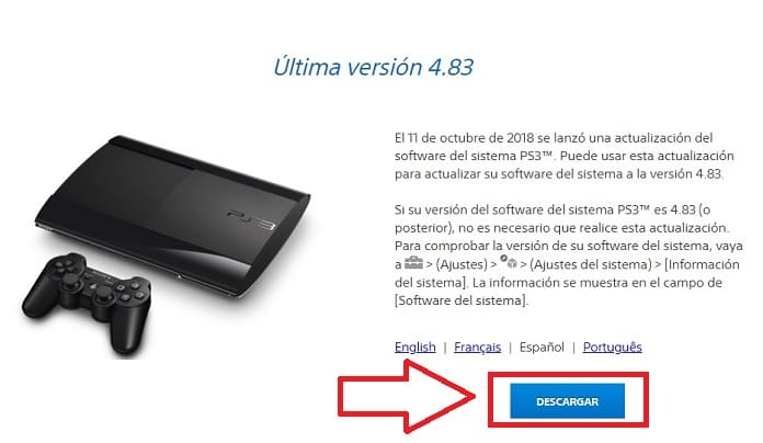 firmware ps3 para rcps3.