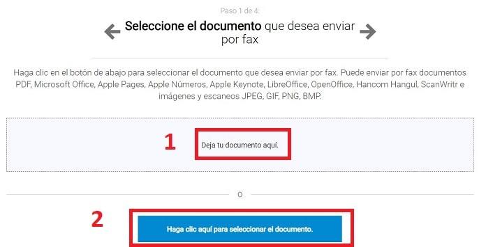 enviar fax por email.