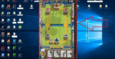 Clash Royale en Windows 10.