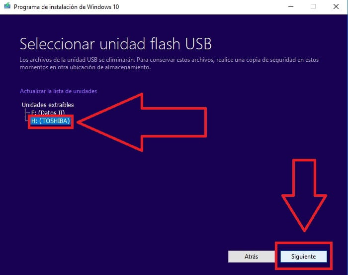 descargar windows 10 booteable 64 bits
