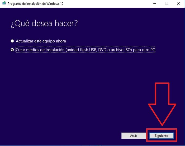 descargar a windows 10 gratis