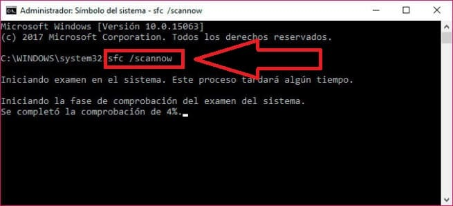 memory management error windows 10 español
