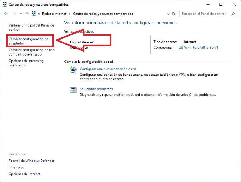 la funcionalidad inalambrica esta desactivada windows 7