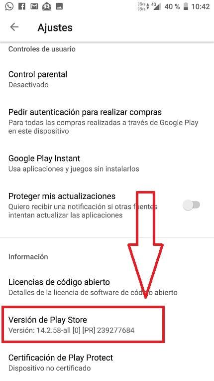 por desgracia google play store se ha detenido