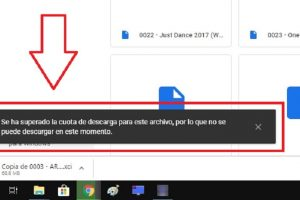 limite de descarga google