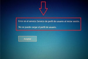 windows 7 error en el servicio de perfil de usuario al iniciar sesion windows 10