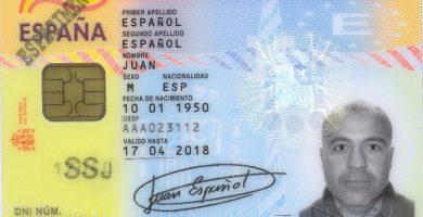 como saber el dni de una persona española
