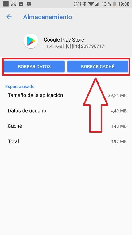 descarga pendiente en google play