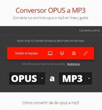 programa para convertir archivos opus a mp3