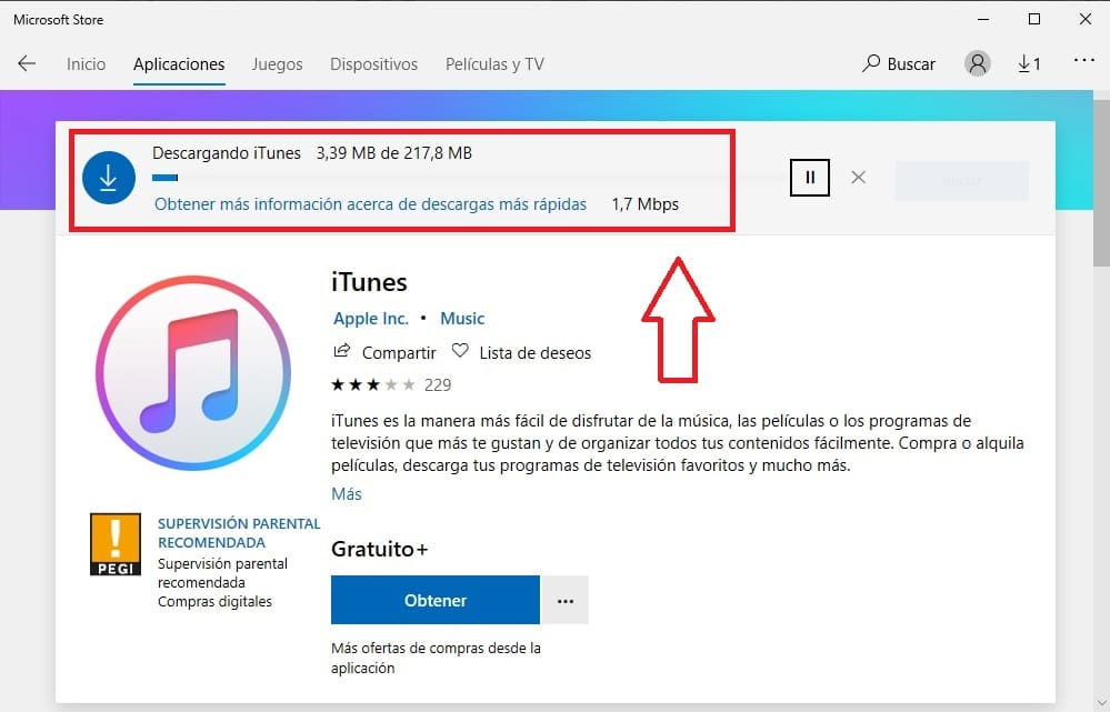 descargar itunes windows 10 64 bits