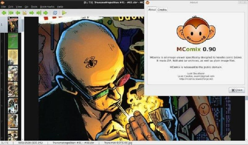 visualizador de comics para pc
