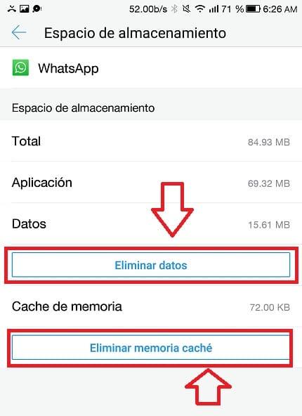 aplicacion whatsapp se ha detenido inesperadamente