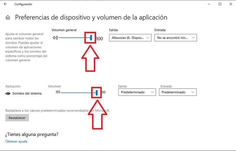 aumentar volumen para windows 10