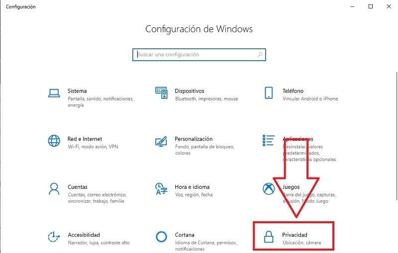 evitar que las aplicaciones de windows 10 accedan al micrófono.