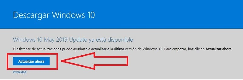 ISO windows 10 may update 2019.