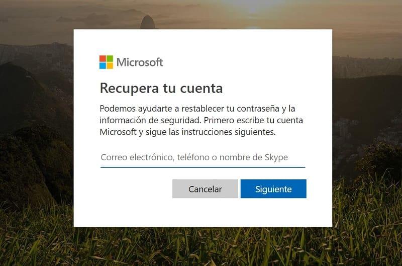 Recuperar Contrasena De Microsoft Facil Y Rapido 2020