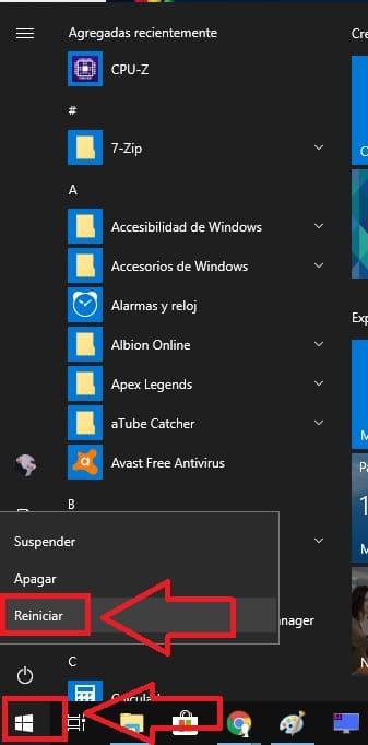 modo seguro antes de iniciar windows 10
