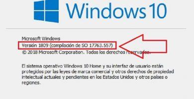 saber que version de windows 10 tengo