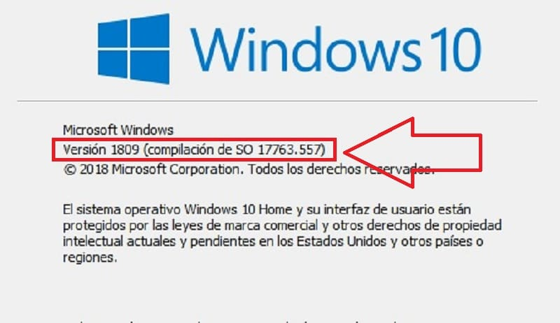 saber que version de windows 10 tengo
