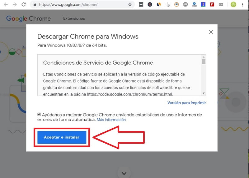 descargar google chrome 32 bits windows 7