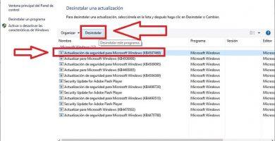 quitar actualizaciones de windows 10