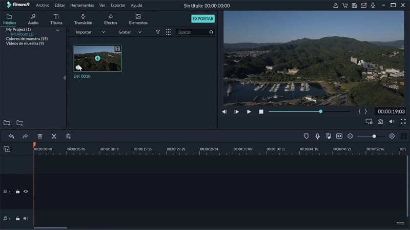 editor de videos para windows 10 pro