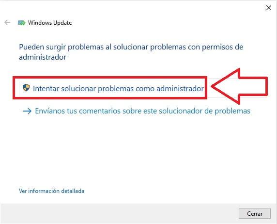 windows update no funciona windows 10