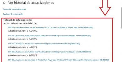 que pasa si desinstalo actualizaciones de windows 10
