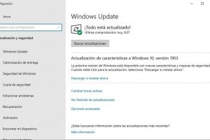 windows update no se esta ejecutando