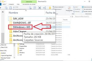 $WINDOWS.~WS que es