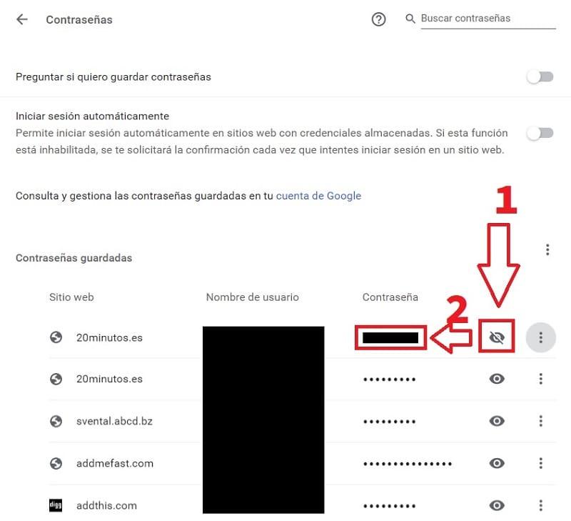 Search for: ¿Cómo guardar una contraseña en Google Chrome?