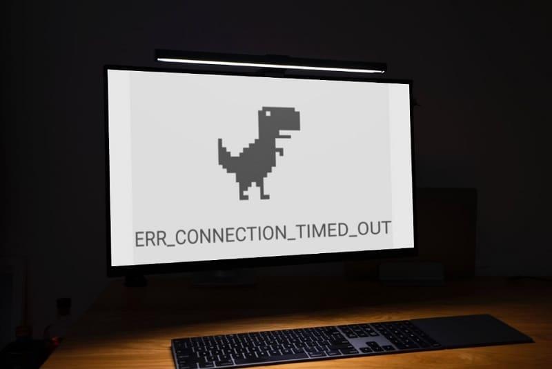err_connection_timed_out como solucionar