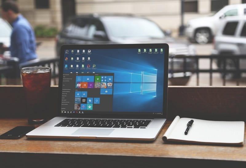 pasos para acelerar el menú de inicio en windows 10