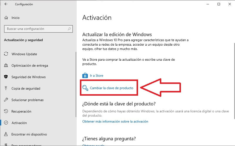 activar windows 10 home