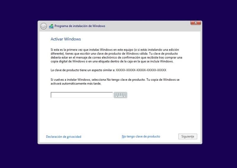 activar windows 10 actualizaciones