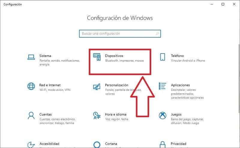 activar bluetooth windows 10 teclado