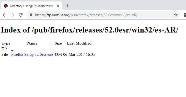 navegador para xp ligero