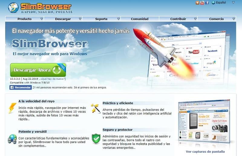 mejores navegadores para xp