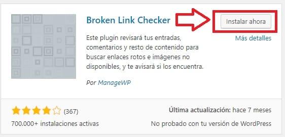 broken link checker wordpress