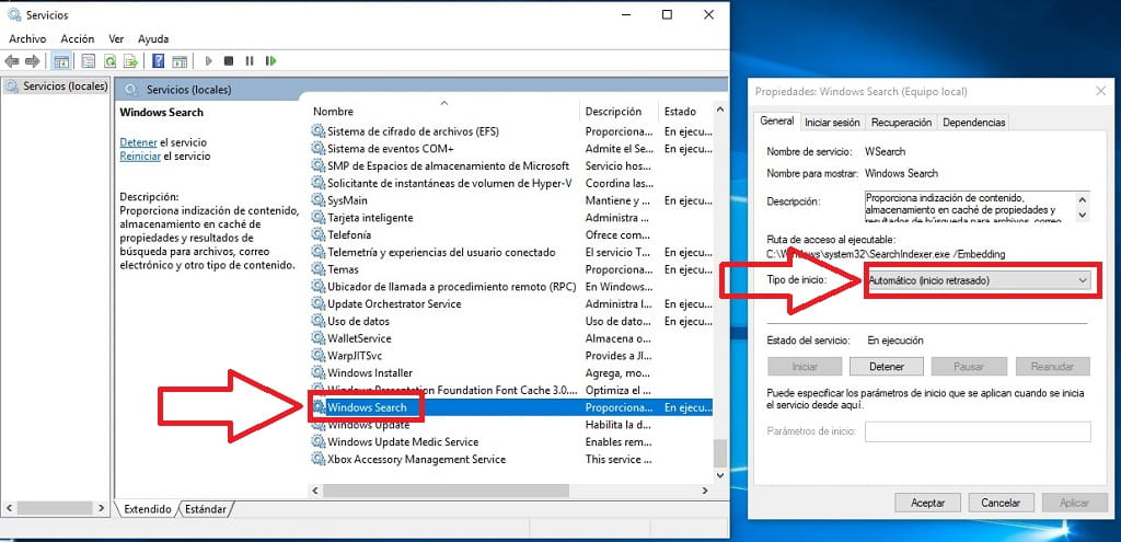 mi busqueda de windows 10 no funciona