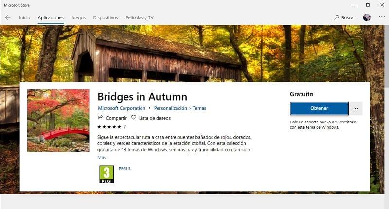 fondos de pantalla windows 10 otoño
